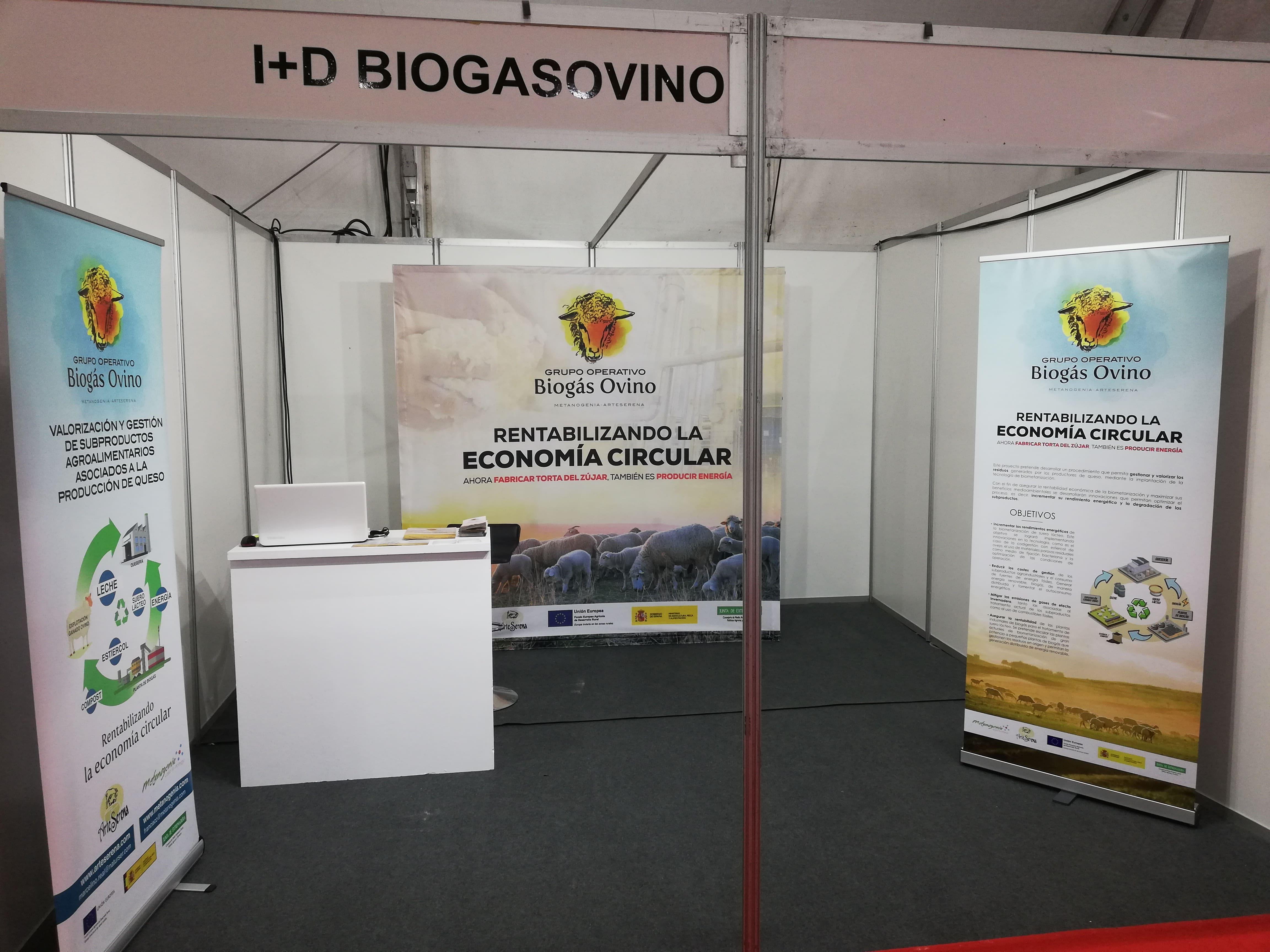EL GRUPO OPERTATIVO BIOGÁS OVINO PRESENTE EN LA FERIA INTERNACIONAL AGROEXPO